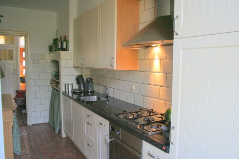 Keuken gezien naar de gang